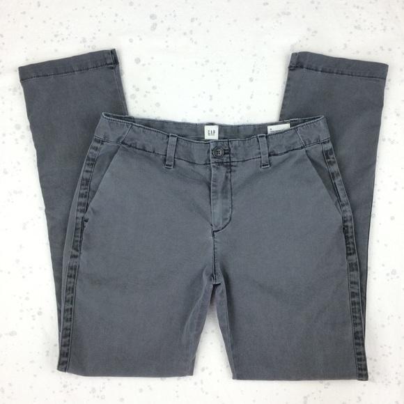 2bec932f454d8 GAP Pants | Girlfriend Chino Washed Black 0 | Poshmark